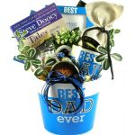Best Dad Ever, Gift Basket For Fathers