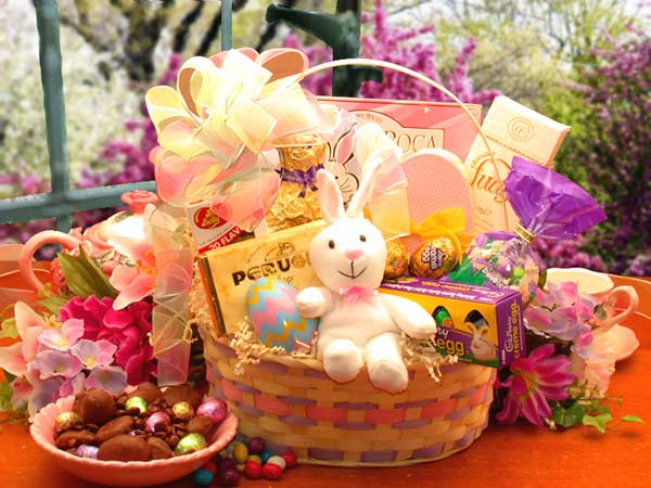 Easter spring gift baskets easter extravaganza easter gift basket negle Gallery