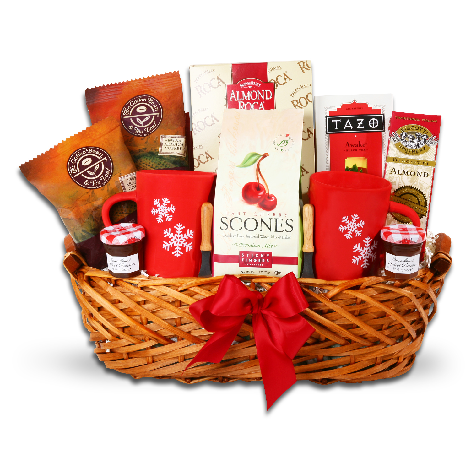 Coffee, Tea and Chocolate Gift Baskets :: Breakfast in Bed