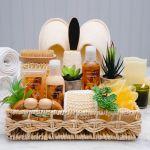 The Essentials Home Spa Basket