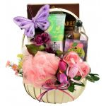 Aroma Therapy Spa Gift Basket