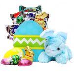 Blue Easter Bunny Basket