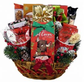 A Cozy Christmas, Holiday Gift Basket