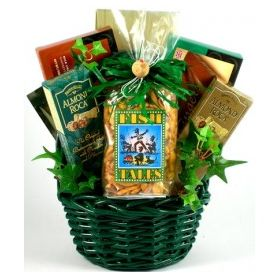 Fishing Fanatic, Gift Basket For Fishermen