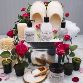 Give Your Love a Rose Spa Gift Basket