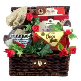 Chocolate Mania, Chocolate Lover Gift Basket