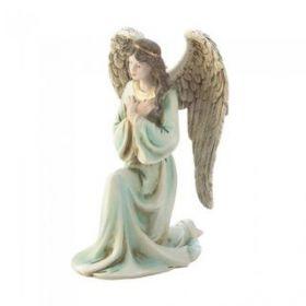 Graceful Kneeling Angel