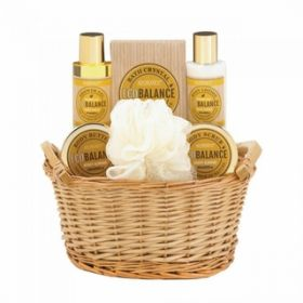 Honey Almond Bath Set