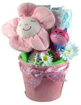 Little Miss, Gift Basket For Baby Girl